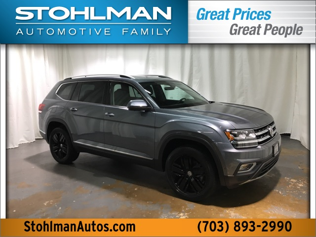 New 2019 Volkswagen Atlas Sel Premium 4motion 4d Sport Utility In