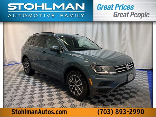 New 2019 Volkswagen Tiguan 2.0T SE 4Motion AWD