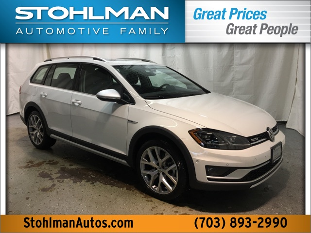 New 2019 Volkswagen Golf Alltrack TSI SEL 4Motion