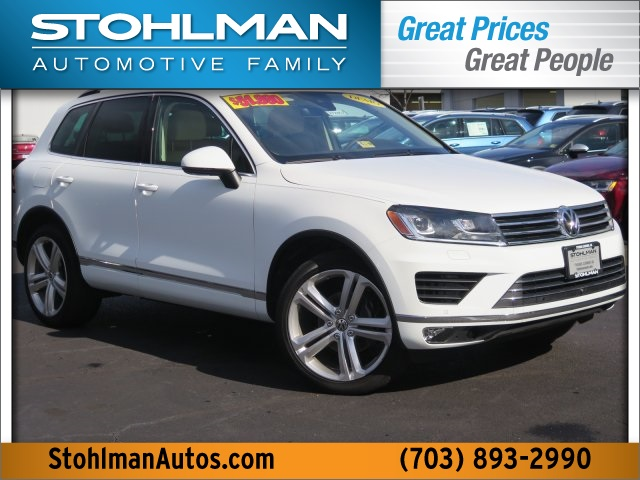 New 2017 Volkswagen Touareg V6 Executive 4Motion