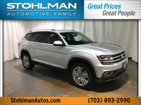 New 2018 Volkswagen Atlas SEL 4Motion