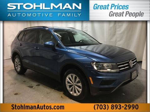 New 2019 Volkswagen Tiguan S 4Motion