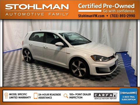 Certified Pre-Owned 2016 Volkswagen Golf GTI S